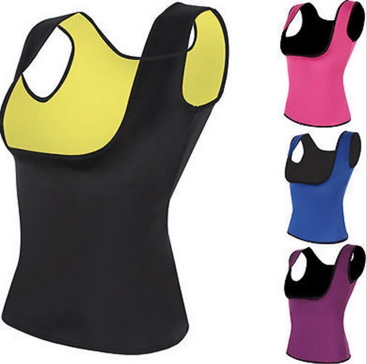 Plus Size S -2xl Women Neoprene Shape Wear Waist Trainer Push Up Vest Tummy Belly Girdle Hot Body Shaper Waist Cincher Corset