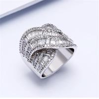 Latest Jewelry Women Engagement rings Cubic Zirconia Stone Women rings Luxury Love AnniversaryGifts Free Shipping