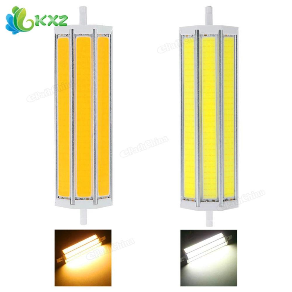 R7S AC 85-265V 30W COB LED Corn Bulb 2650 Lumens 198mm LED Flood Light Lamp Warm White / Cool White r7s 17w 1620lm 5000k 72 led white light bulb yellow white ac 85 265v