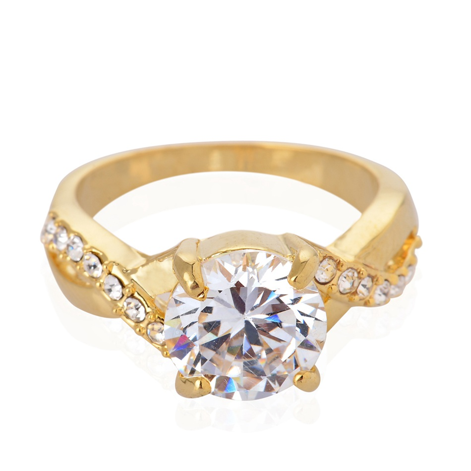Aliexpresscom Buy Quality engagement wedding ring Gold