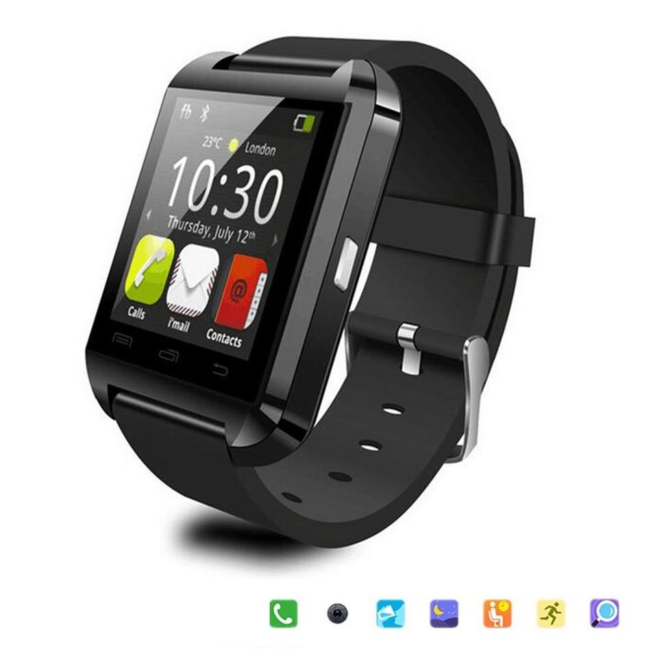 Bluetooth Smart Watch U8 Wrist Watch U8 font b SmartWatch b font For iPhone 5S 6