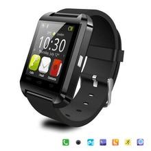 Bluetooth Smart Uhr U8 Armbanduhr U8 SmartWatch Für iPhone 5 S/6 und Samsung S4/Note/s6 HTC Android Phone Smartwatch Geschenk Box