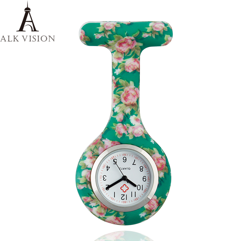 Fashion Colorful Silicone Medical Nurse Watches Docter Hanging Medical Watch Free Shipping High Quality Gift
