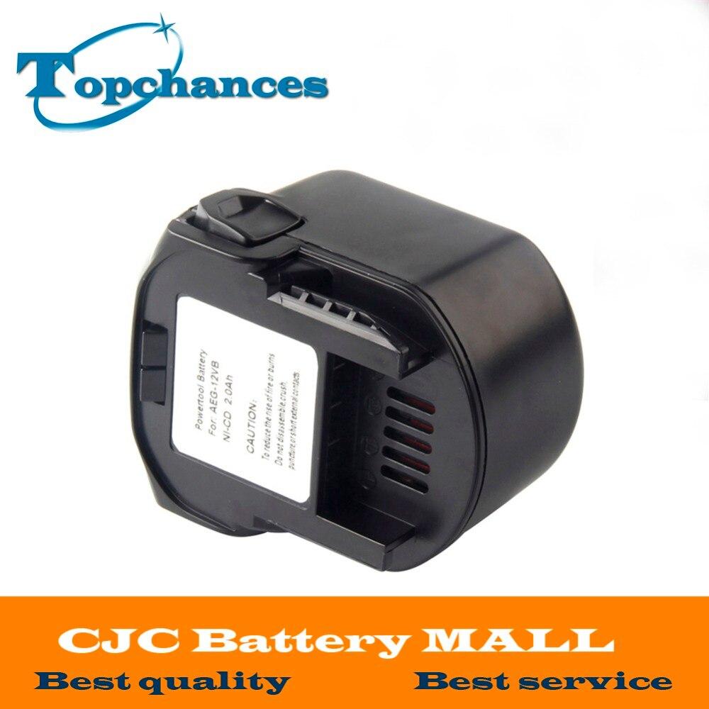 AEG 12VB font b Power b font font b Tool b font Battery 12V 2000mAh 2