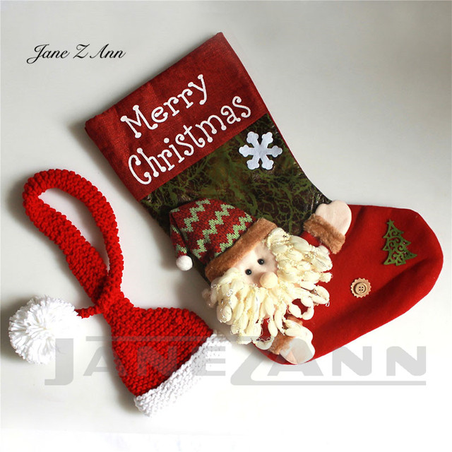 Jane Z Ann Baby photo costume newborn photo cartoon knitted handmade Christmas theme sleeping bag with hat studio accessories 5