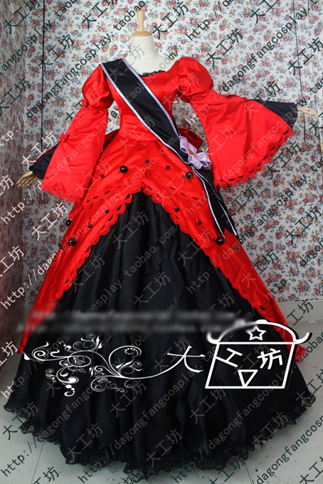 font-b-vocaloid-b-font-alice-in-musicland-meiko-cosplay-costume-luxury-red-party-dress-halloween-uniform-outfit-custom-made