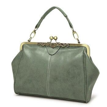 Green Retro Handbag