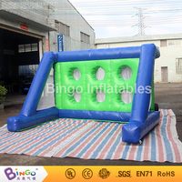 Free Delivery 3x2x2 meters Inflatable Shooting Football Game Hot sales blow up football goal for children