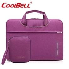 Cool bell ultra-thin ultra-light  laptop bag 13.3 14.4 15.6 laptop bag handbag