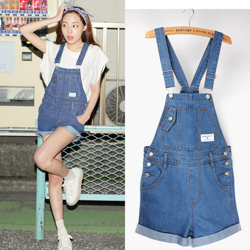 How to Style Short Denim Overalls, Jumpsuits
