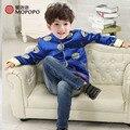 MaoPoPo Зимняя Куртка Мальчик Тан Костюм Традиционный Китайский Куртки Childen Одежды Китайский Мальчик Костюм новый год одежда для детей