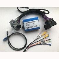Plug and play добавить камера заднего вида Передняя камера видеоинтерфейс для 2014 peugeot 5008 аксессуары с парковкой рекомендации