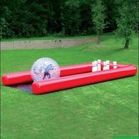 Inflatable bowling bottle use for zorb ball( human hamster ball), 2 M hight