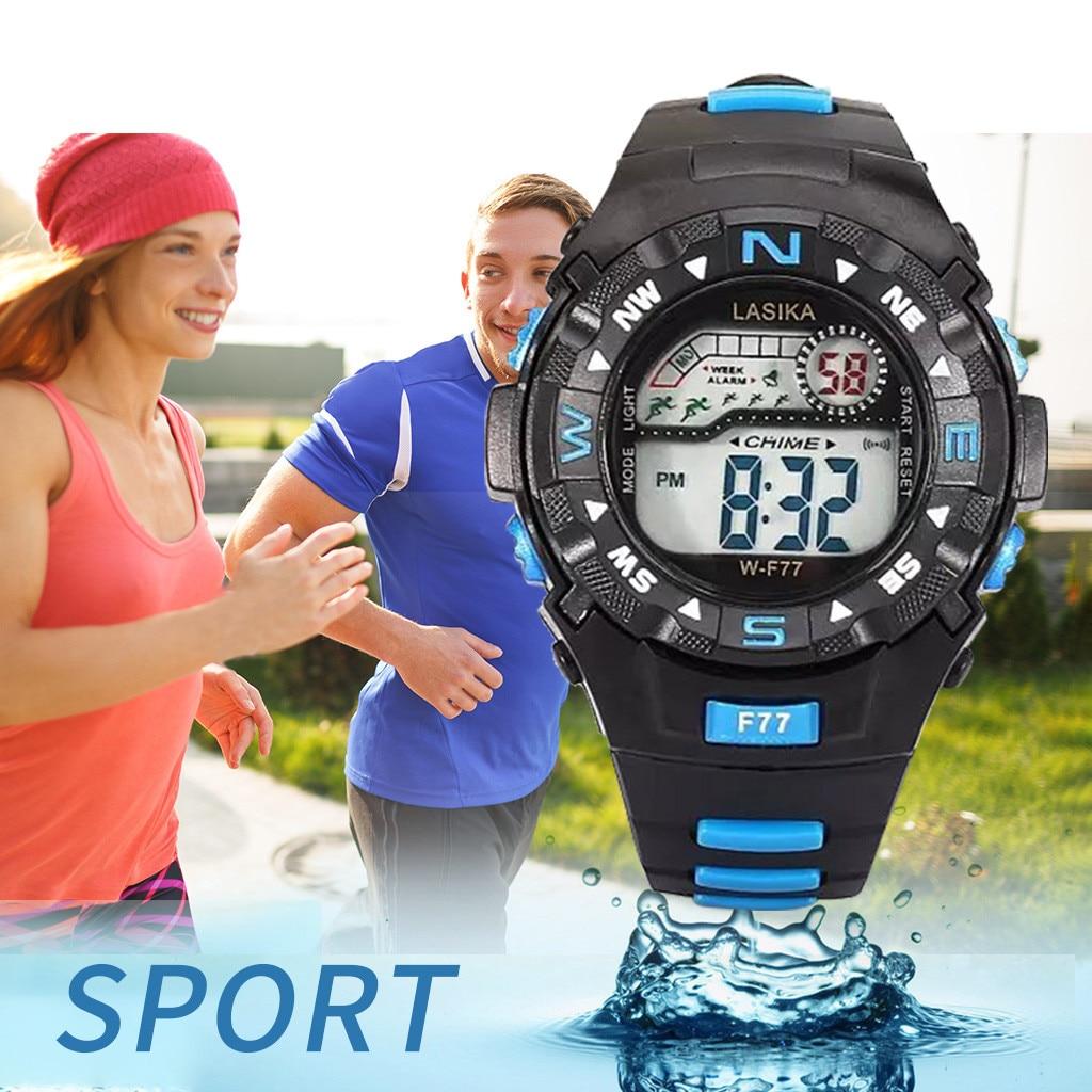children's watch Multi Function Alarm Clock Student Waterproof Sports Fashion Electronic Watch  children's watch for boys