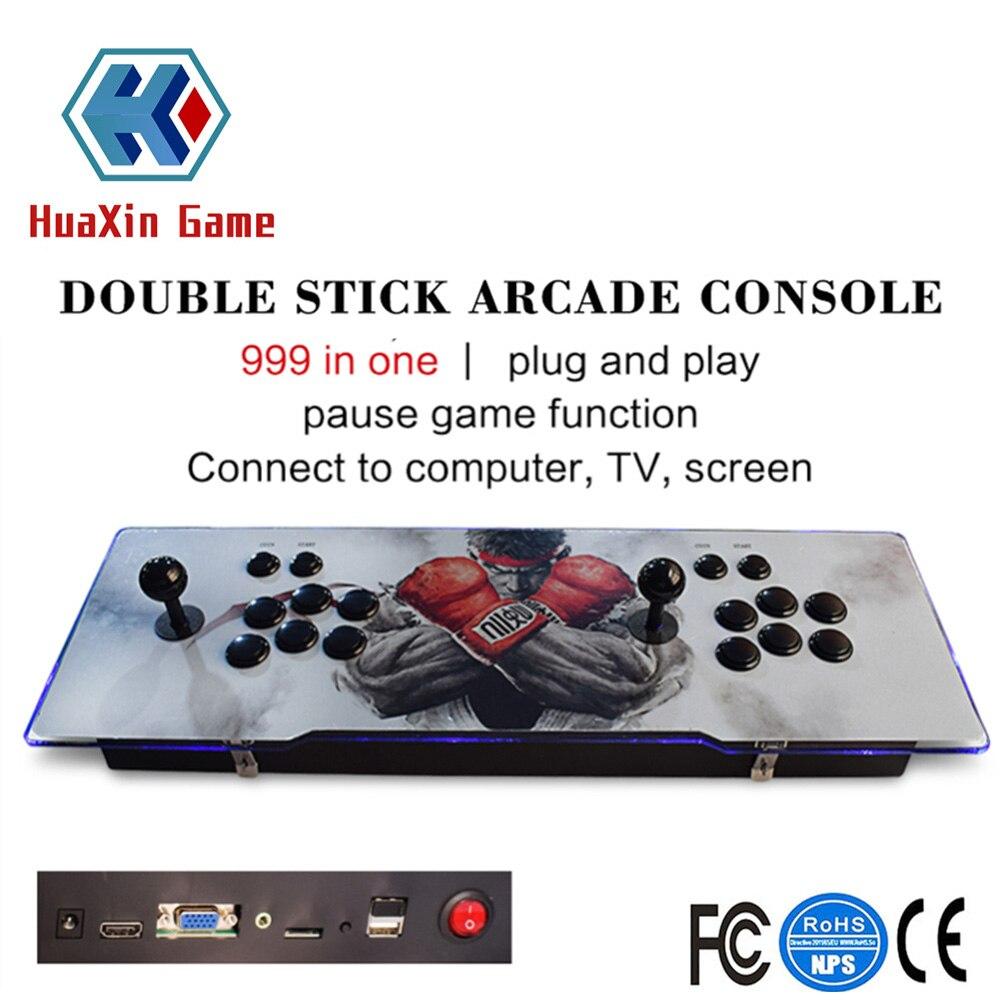 Классическая игра Коробка Аркада консоли 1388 ретро классические игры из металла двойной палки видео консоли Поддержка HDMI/USB/ VGA Выход