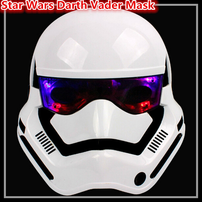 Cool Star wars mask Darth Vader Empire Storm Clone trooper helmet black warrior Empire soldiers Halloween mask party games Mask