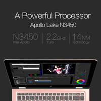Intel Apollo Lake N3450 13.3 Tablet PC VOYO VBOOK V3Pro 1.1GHz IPS Touchscreen Fingerprint Recognition 8G RAM 128G SSD Bluetooh