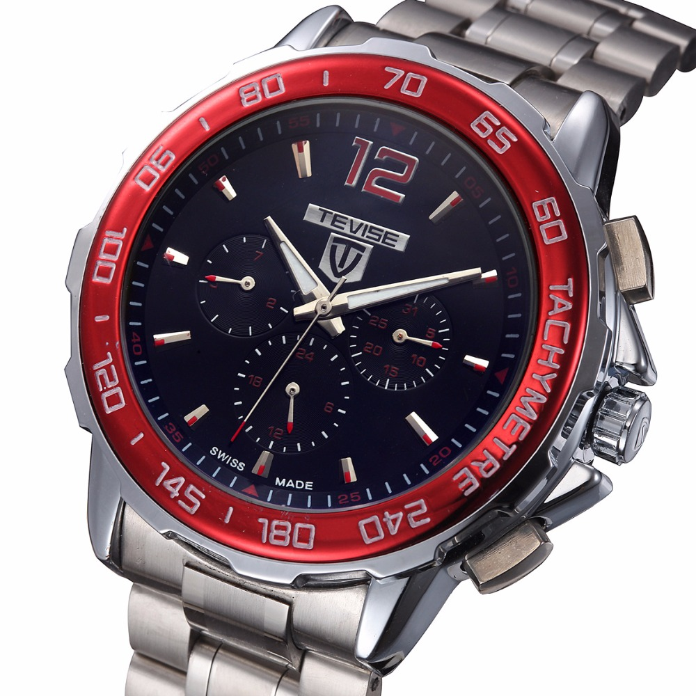 ФОТО TEVISE top brand Mens Watches Luxury Watch Automatic Self Wind Business Mechanical Luminous Wristwatch Relogio Masculino 2016