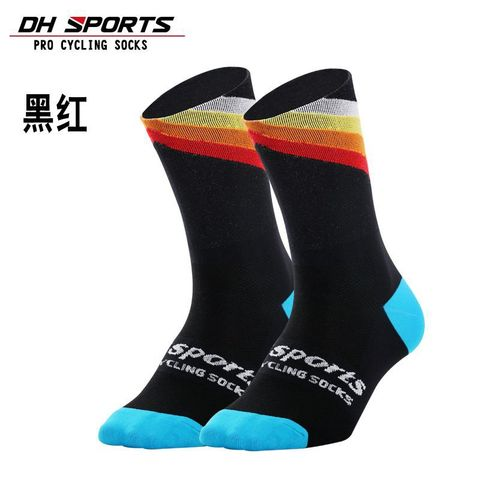 DH SPORTS Pro best sports socks windproof Coolmax Warm weather tall cycling socks Crazy basketball running athletic defeet socks Islamabad