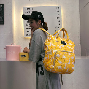 Image 5 - Baby Diaper Bag Backpack Fashion Mummy Maternity Bag for Mother Brand Mom Backpack Nappy Changing Bags Bolsa Maternidade