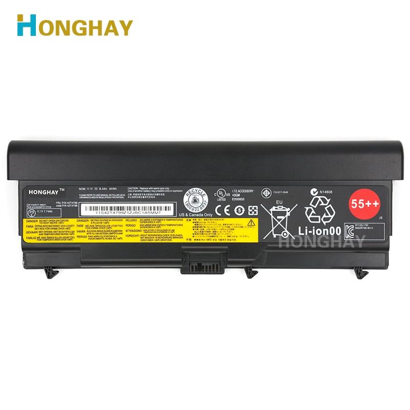 Nouvelle batterie D'ordinateur Portable D'origine pour LENOVO ThinkPad E40 E50 E420 E520 SL410 SL510 T410 T510 T420 T520 W510 W520 L410 L420 L510 L520