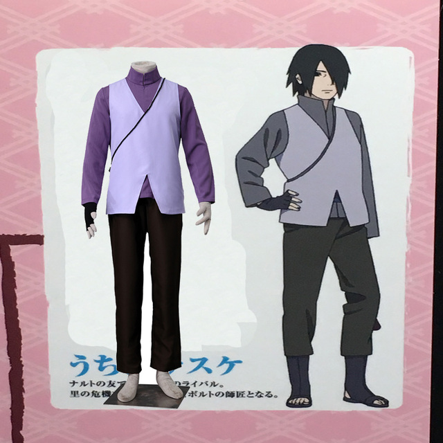 Any Size Sasuke Uchiha Cosplay Costume COS Japanese Anime Boruto: the Movie Unisex Clothing Outfit Custom Made Uniforme