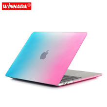 Laptop Case For macbook air 13 case the rainbow series For Apple MacBook Air Pro Retina 11 12 13 15 inch with Touch Bar все цены