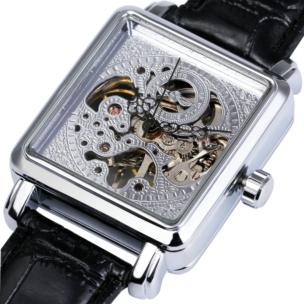 font b WINNER b font Women Mechanical Wrist Watches 2017 Top Brand Luxury Ladies Semi