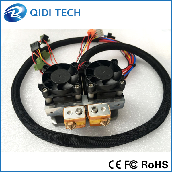 QIDI TECHNOLOGY dual extruder for QIDI TECH I 3d font b printer b font high speed