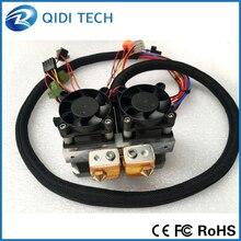 Qidi технологии двойной экструдер для qidi Tech I 3D принтер высокая скорость и высокого качества