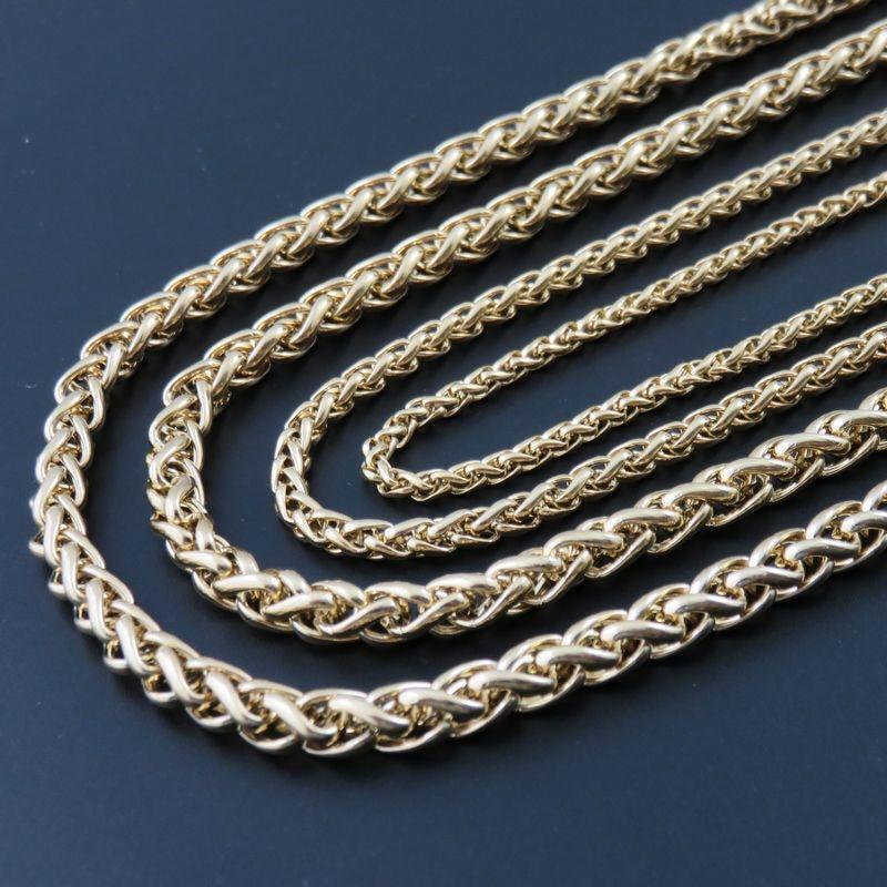 Мужская цепь золотого цвета 3/4/5/6 мм, 18 36 дюймов, ожерелье из нержавеющей стали 316L, модные украшения|fashion jewelry|jewelry fashionnecklace 316l | АлиЭкспресс