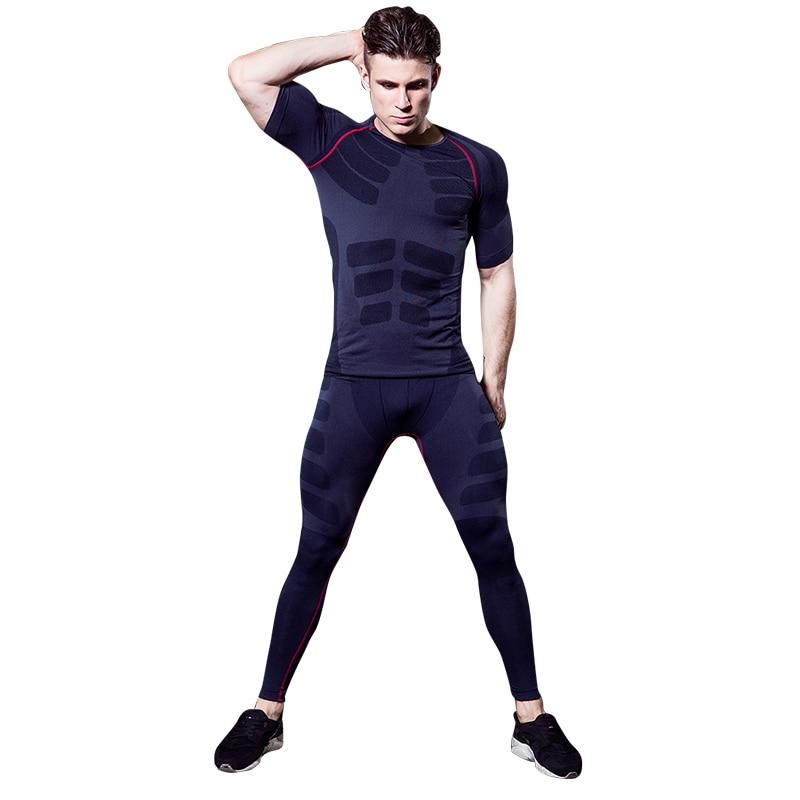 YD 2019 Нов компресиран къс ръкав - Спортно облекло и аксесоари - Снимка 1