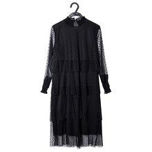 Elegant Lace Chiffon Layered Maternity Spring Dress