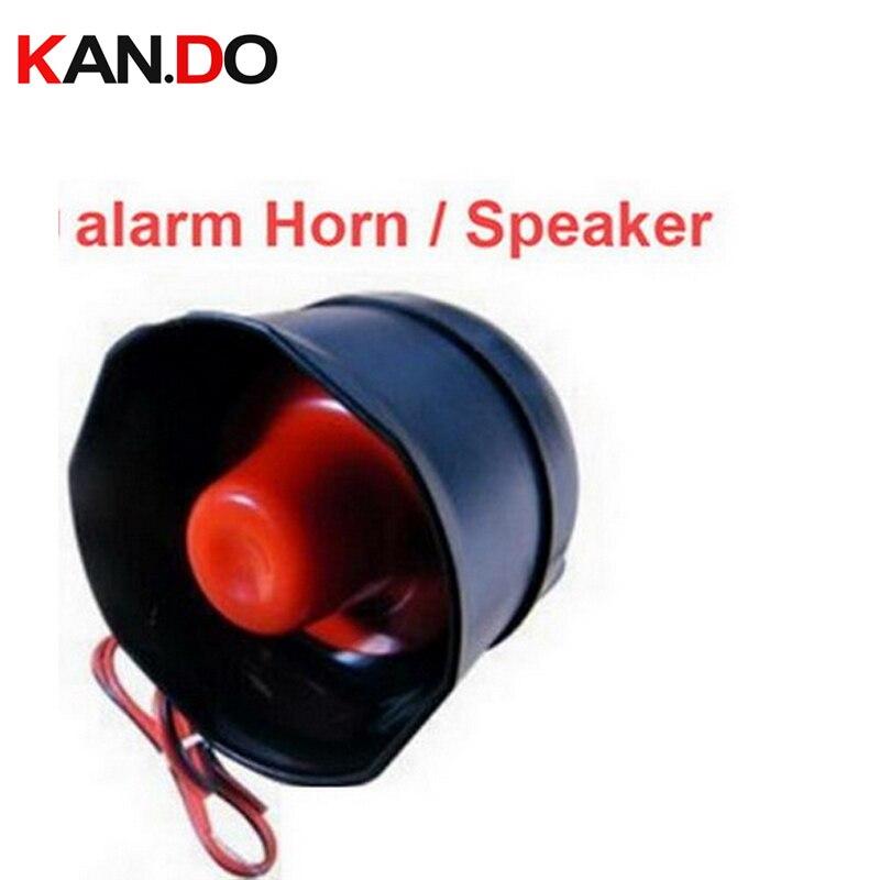 12V 15W Alarm Speaker Horn For GSM Security Alarm Dual Way Talking Purpose 105DB Siren Speaker For Alarm Host Alarm Siren