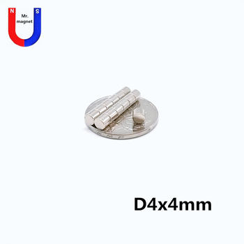 1000pcs 4*4 Neodymium Disc Magnets 4x4 mm Super Strong Powerful Rare Earth 4mm x 4mm Small Round Magnet