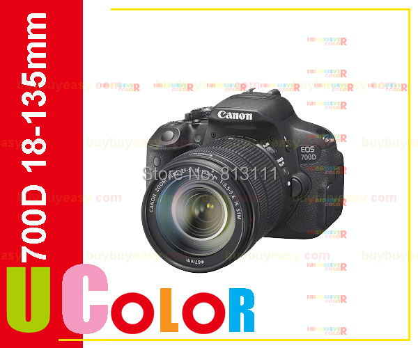 New Canon EOS 700D / Rebel T5i Digital SLR Camera & EF-S 18-135mm IS STM Lens canon eos 700d kit ef s 18 135 is stm