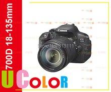 New Canon EOS 700D / Rebel T5i Digital SLR Camera & EF-S 18-135mm IS STM Lens