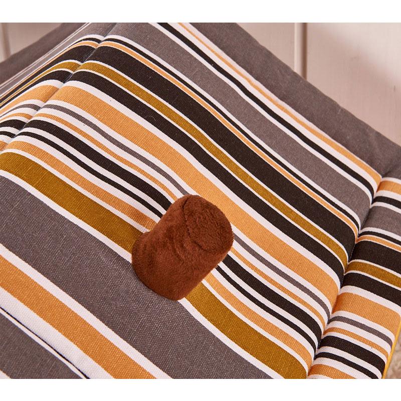 Stripe Soft Home Form Hundeseng Hund Kennel Pet House For Puppy Dogs - Pet produkter - Foto 6