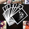 More than 800 kinds of henna tattoo stencil airbrush stencil livros nail gel temporary glitter henna tattoo accessories stencil