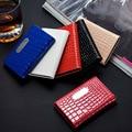 Travel Card Case Crocodile Pattern Leather Men & Women Business Namecard Holder Metal Cards Wallet