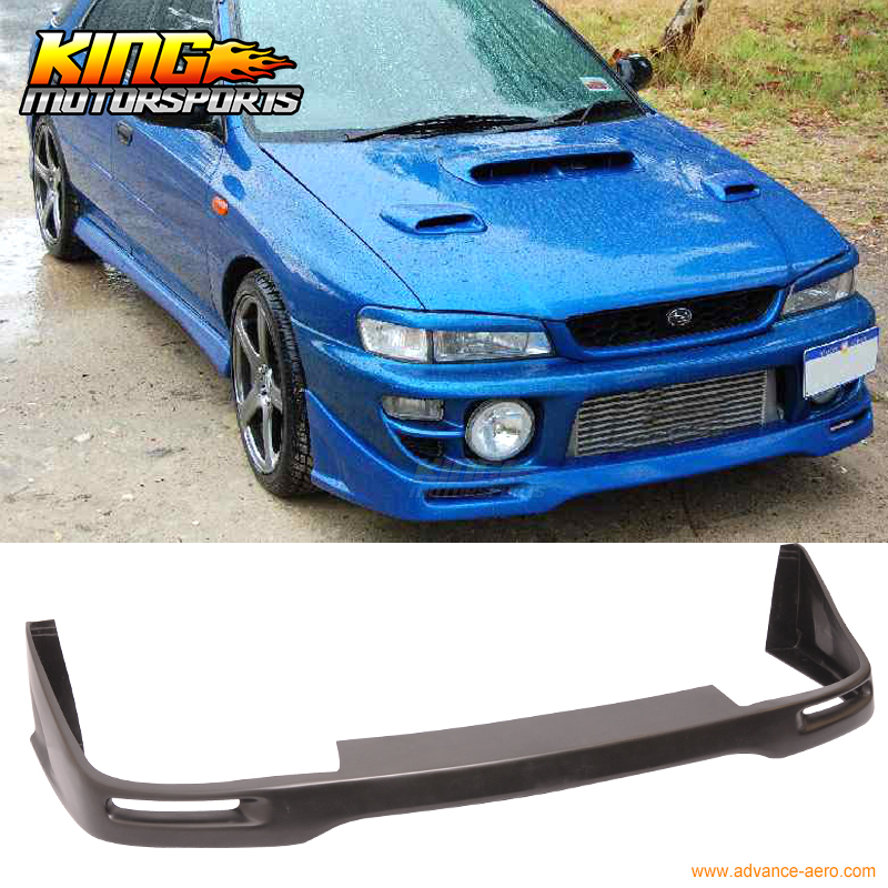 Fit For 97-01 Subaru Impreza WRX STI Urethane Front Bumper Lip epman intercooler y pipe hose kit for subaru wrx sti gdb ggb 2 0 00 07 ver 7 9 3pcs ep sbt007