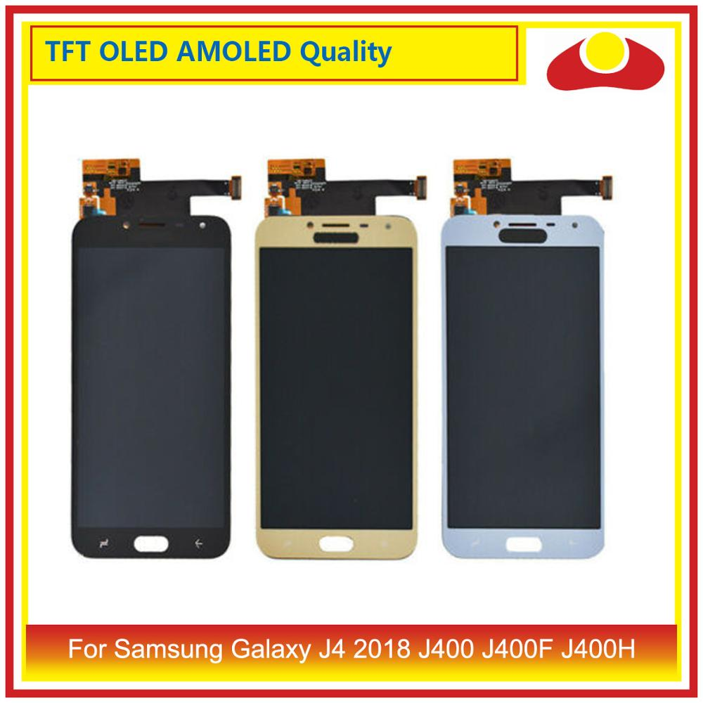 ORIGINAL For <font><b>Samsung</b></font> <font><b>Galaxy</b></font> <font><b>J4</b></font> 2018 J400 J400F J400H J400P J400M LCD <font><b>Display</b></font> With Touch Screen Digitizer Panel Pantalla Complete image