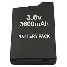 1 шт. только для sony psp батарея тонкий 2000 3000 Замена перезаряжаемая 3600 мАч