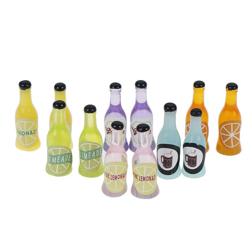 2 Cái/bộ 1/12 Nhà Búp Bê Mini Mini Nhựa Rượu Mô Phỏng Đồ Gỗ Đồ Chơi Mô Hình Cho Búp Bê Trang Trí Nhà Cửa