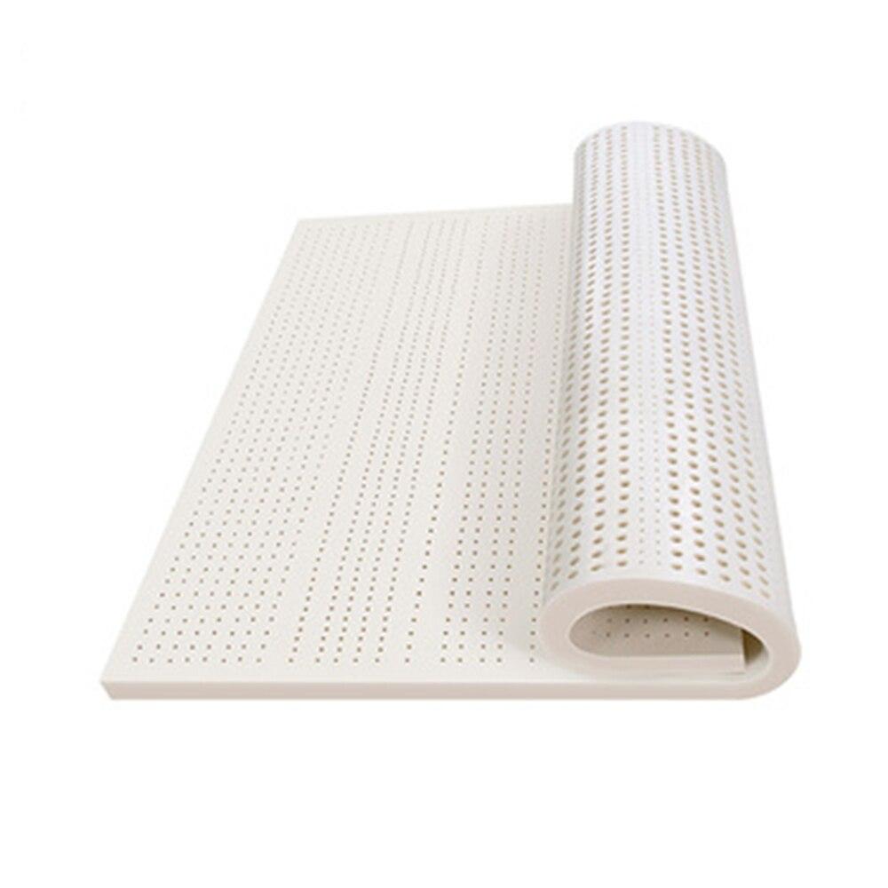 Single Size Natural Latex Mattress Japan Tatami Mat Cervical Vertebra Neck Protector 7 Zone Body Relax