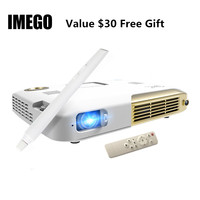 Micro Touch Screen Projector Full HD 1080p MINI LED Projector Android Portable Projection DLP 4K Business