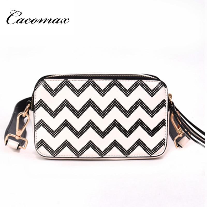 2018 Bag female new Korean hit color small square package tide wide shoulder strap wave pattern shoulder Messenger bag wholesale