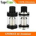 Original joyetech unimax 25 tanque de sistema de flujo de aire ajustar tfta unimax 25 atomizador cigarrillo electrónico w/bfl y bfxl series cabeza