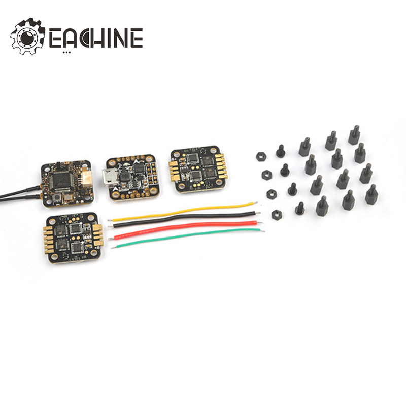 New Arrival 2017 15x15mm Eachine TeenyCube Flytower Frsky XSR-E Receiver & F3 Flight Controller & 6A 2 in 1 ESC For RC Models цена