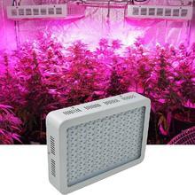 США Plug CroLED ПРИВЕЛО Светать Панели 1000 Вт (10 Вт LED) полный Спектр для Комнатных Цветочных Растений Парниковых Гидропоники Освещения